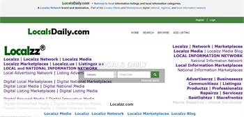 LocalsDaily.com  - National to local information listings and local information categories.